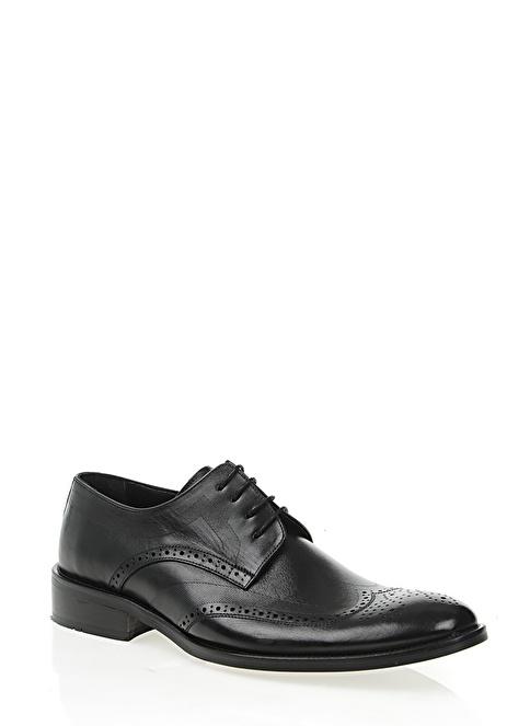 Gardashoes %100 Deri Klasik Ayakkabı Siyah